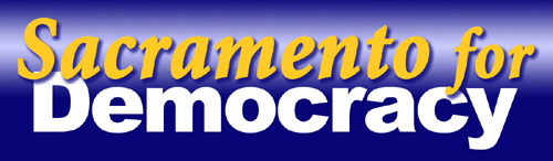 Sacramento for Democracy logo