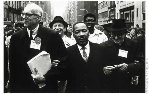 Martin Luther King Jr marching photo